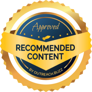 OutreachBuzz Recommended Content Seal