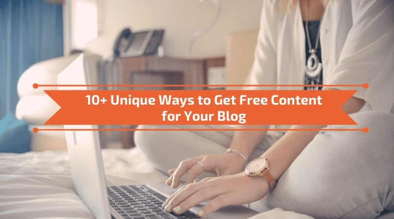 Post for Newbies: Get Free Content for Your Blog