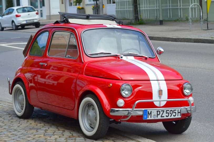 Fiat Love Letters Classic Car